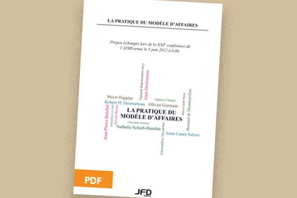 La pratique du modèle d'affaires