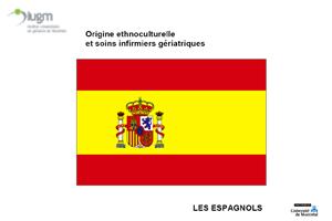 Origine ethnoculturelle et soins infirmiers gériatriques : Les Espagnols