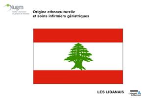 Origine ethnoculturelle et soins infirmiers gériatriques : Les Libanais