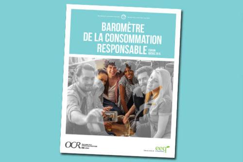 Baromètre 2015 de la consommation responsable
