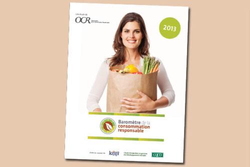 Baromètre 2013 de la consommation responsable