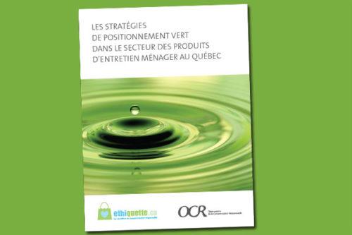 Guide des produits ménagers verts