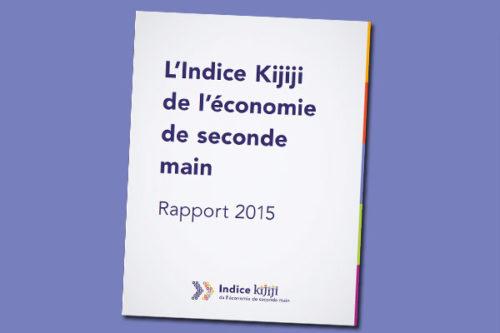L'Indice Kijiji de l'économie de seconde main : Rapport 2015