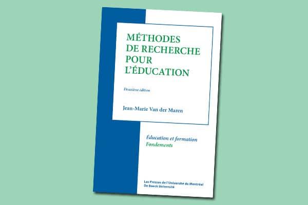 Méthodes de recherche pour l'éducation : deuxième édition