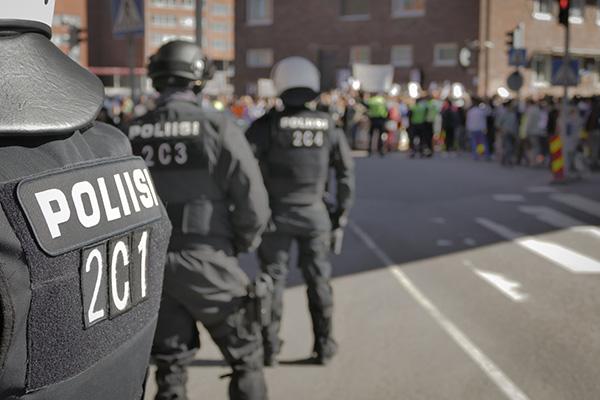 Les conditions de travail des employés d'un corps policier canadien