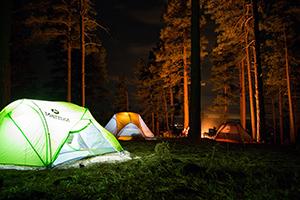 Crise dans un camp scout