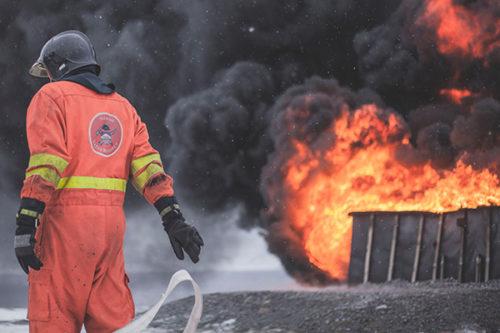 Alain St-Pierre, l'homme qui a combattu plus que les flammes
