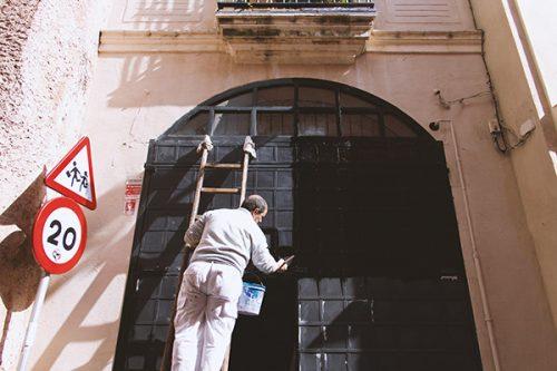 Stéphane Gagnon, peintre en bâtiment