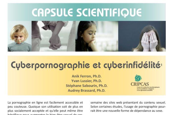 Cyberpornographie et cyberinfidélité