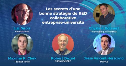 Les secrets d'une bonne stratégie de R-D collaborative entreprises-Université