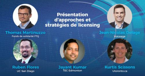 Présentation d'approches et stratégies de licensing