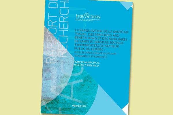 La fragilisation de la santé au travail des préposées aux bénéficiaires et des auxiliaires en santé et services sociaux expérimentées du secteur public au Québec : quelles conséquences sur la vie personnelle et familiale?