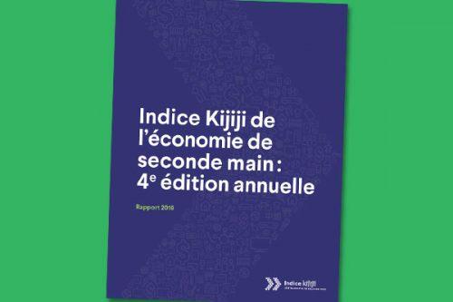 Indice Kijiji de l'économie de seconde main : Rapport 2018