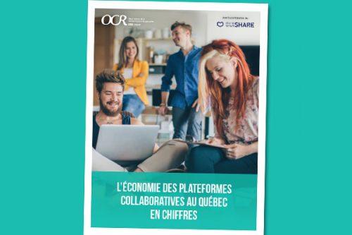 L'économie de plateformes collaboratives au Québec en chiffres